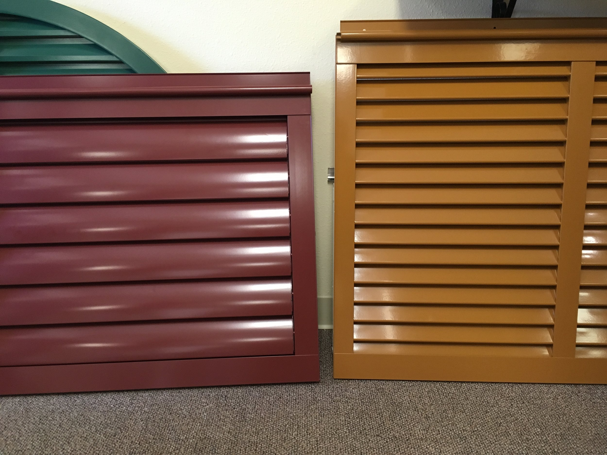 """78 New 4"""" Articulating Bahama Shutter ' to the Right"""