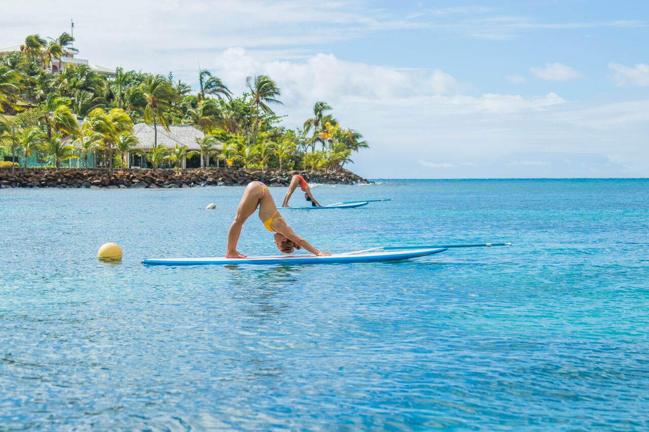 Paddle Board Yoga with Kino MacGregor