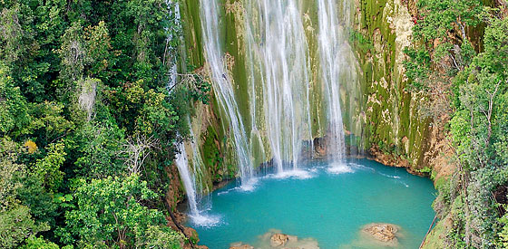 EL LIMON WATERFALL, SAMANA