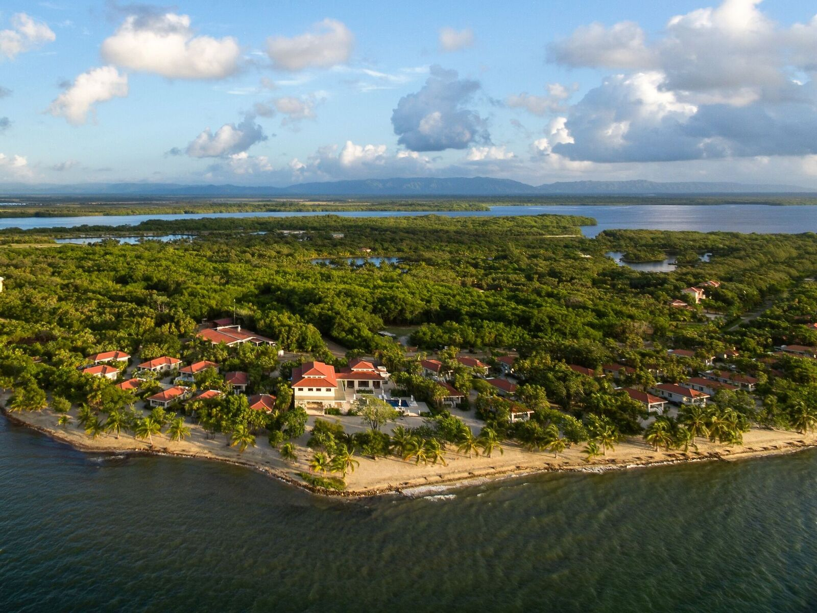 AERIAL VIEW OF NAIA RESORT & SPA IN PLACENCIA
