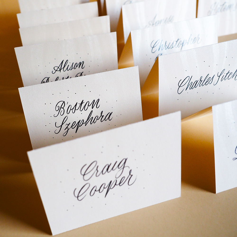 Calligraphy stationery for C2 Melbourne.
