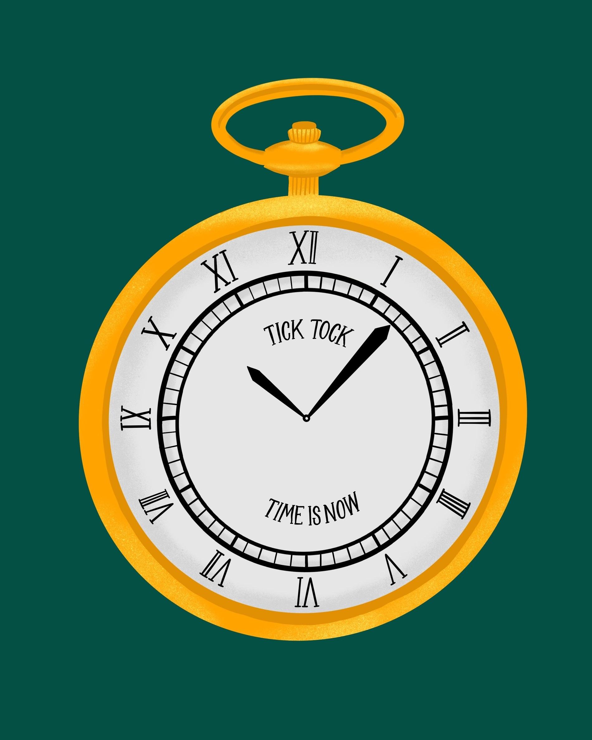 Clock-Illustration-AngelKein