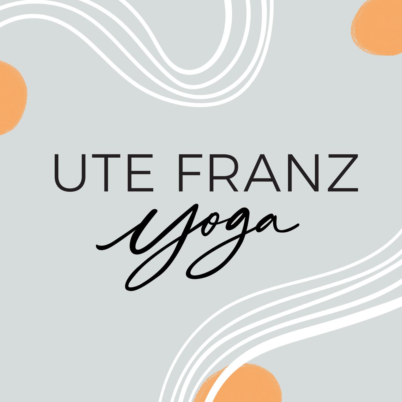︴Branding, Logotype, Web Design ︴Ute Franz Yoga