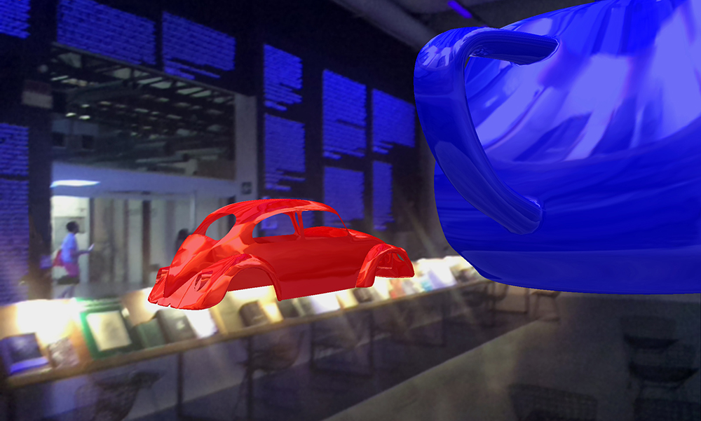 Newell and Sutherland, the Teapot and the VW Shell