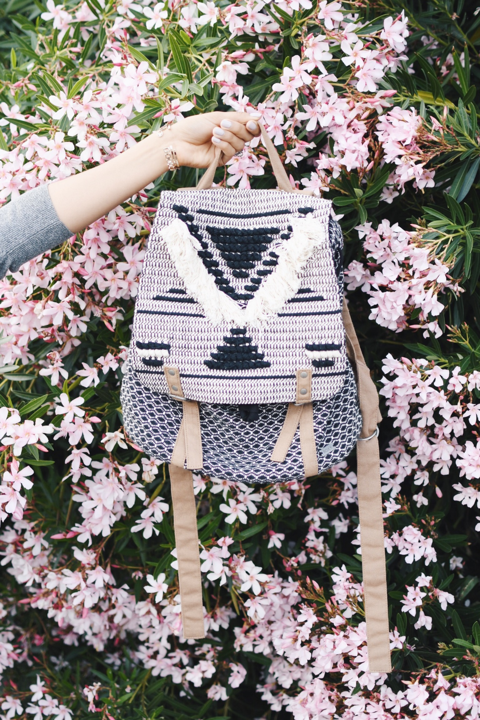 cute backpack for spring and summer