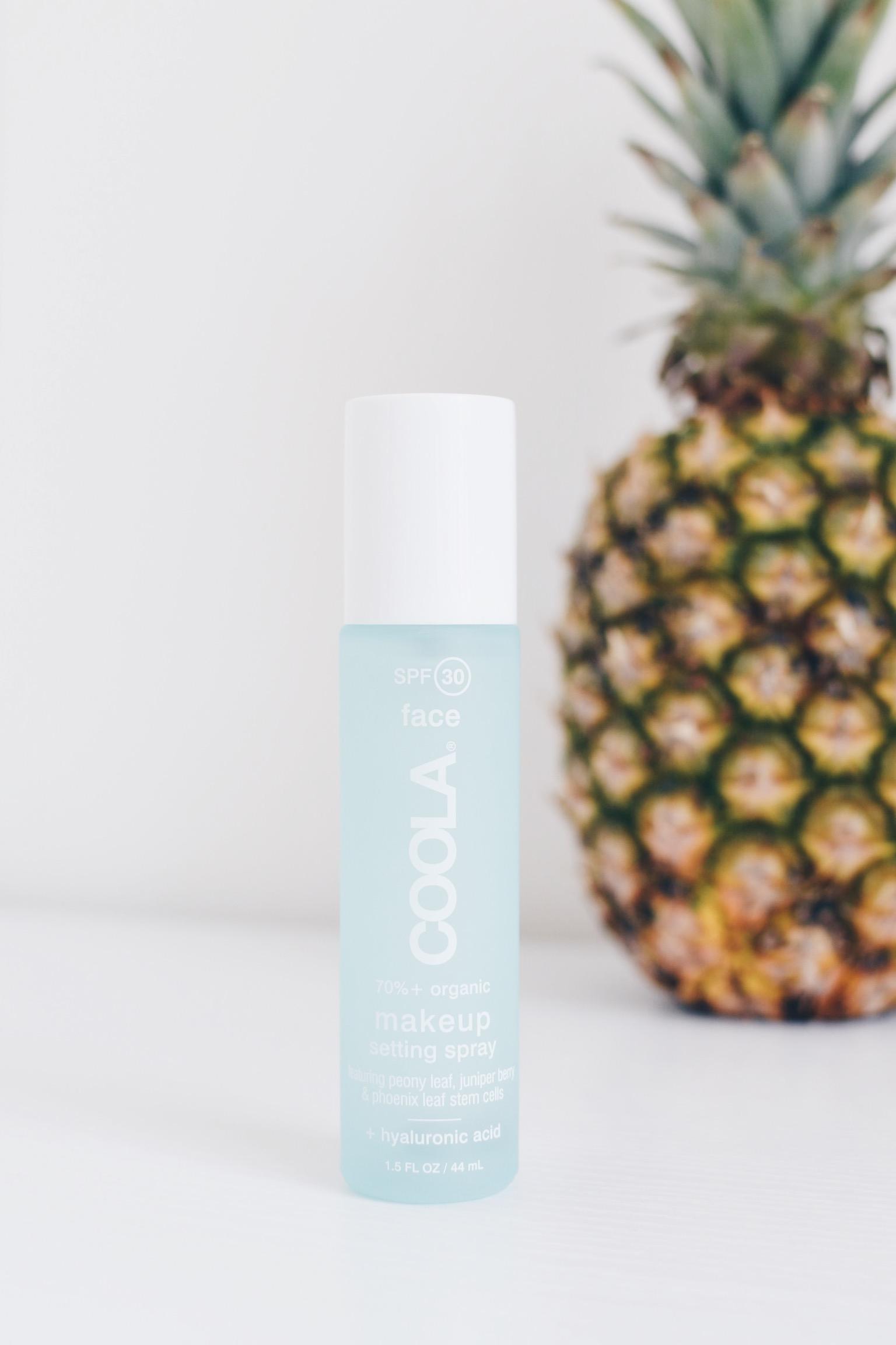 Coola Suncare Makeup Setting Spray Review