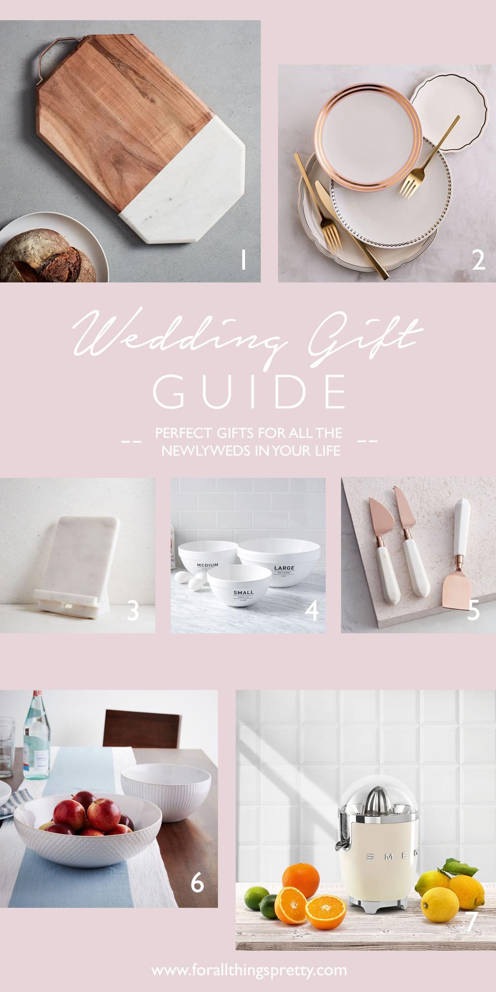 Wedding Gift Guide