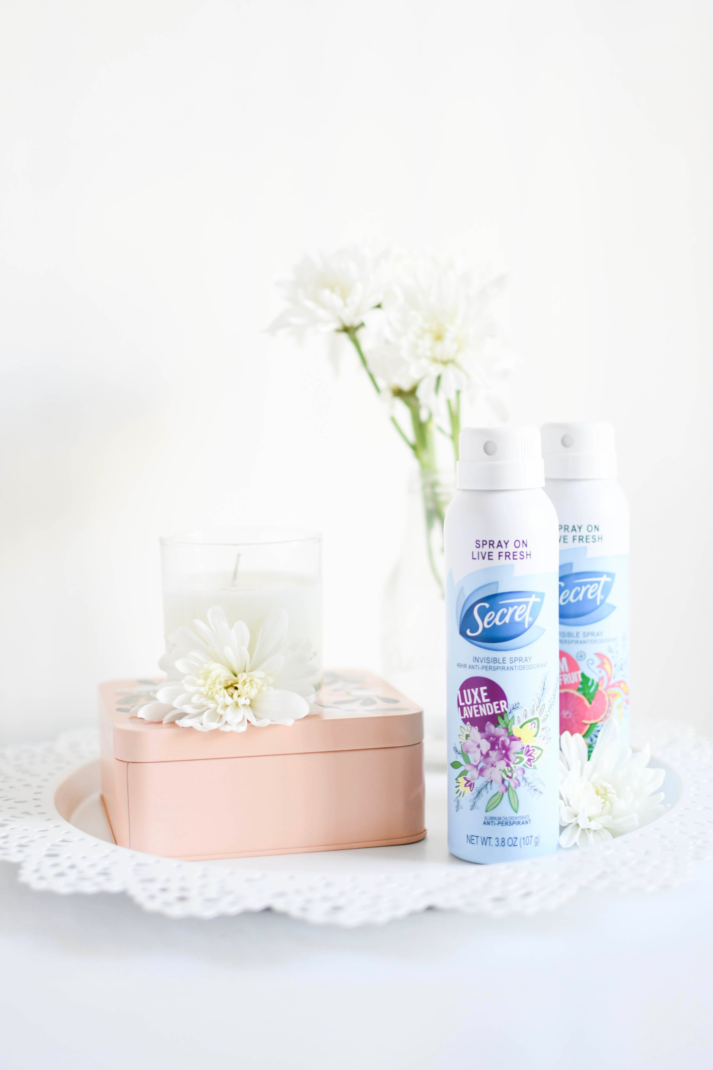 Secret Deodorant Invisible Spray