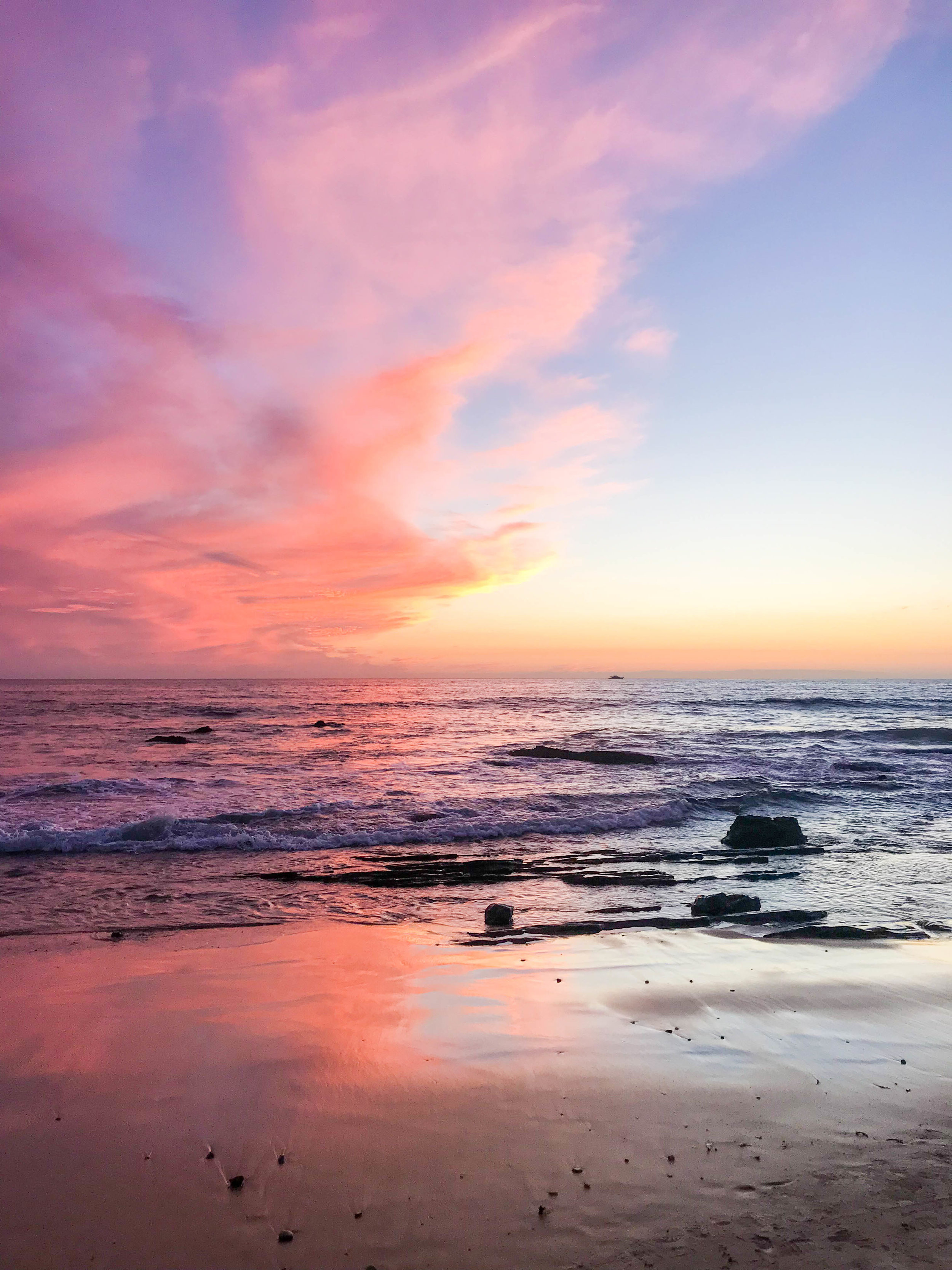 Winter Beach Day | Souther California