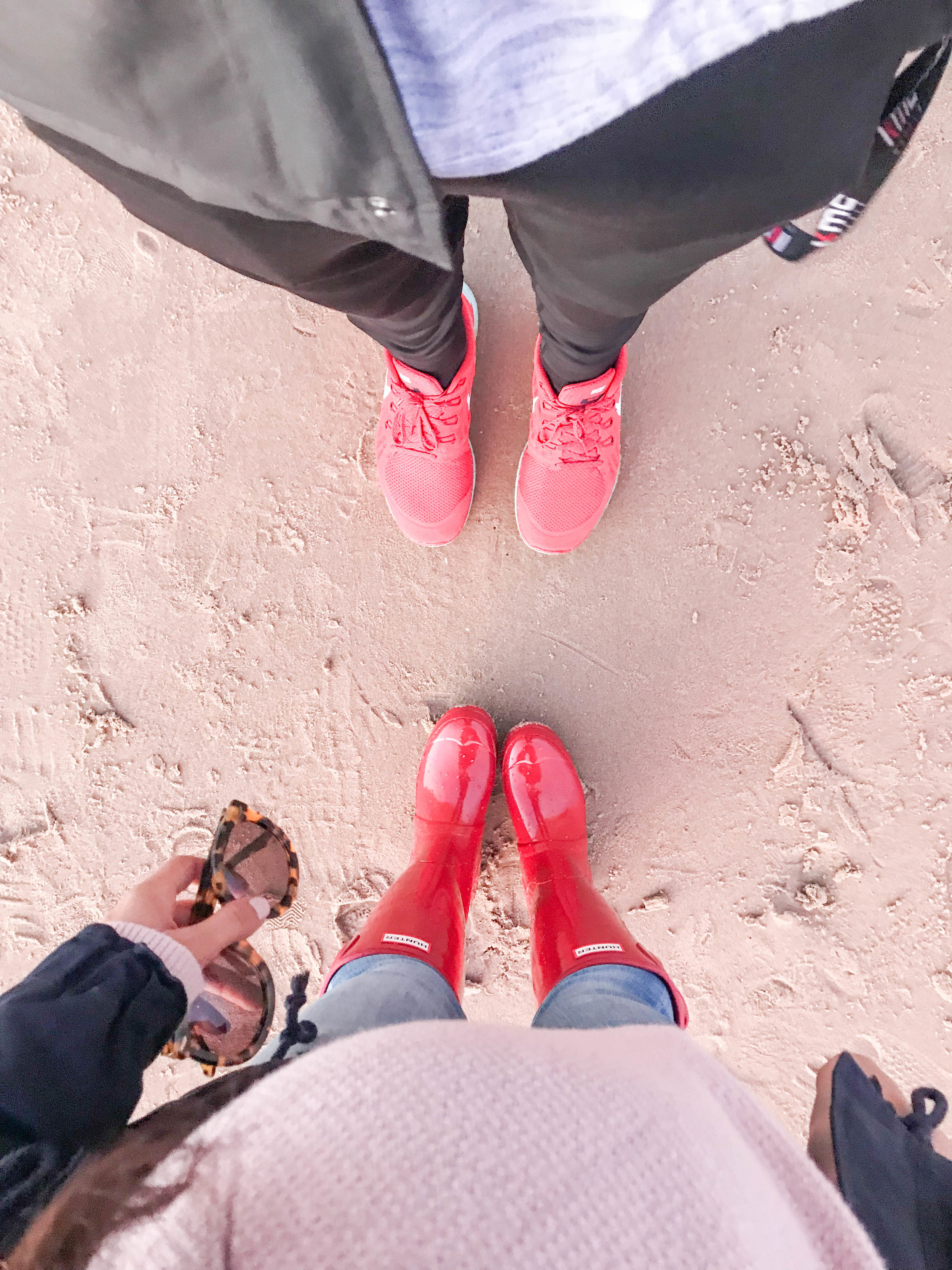 His & Hers | Red Shoes