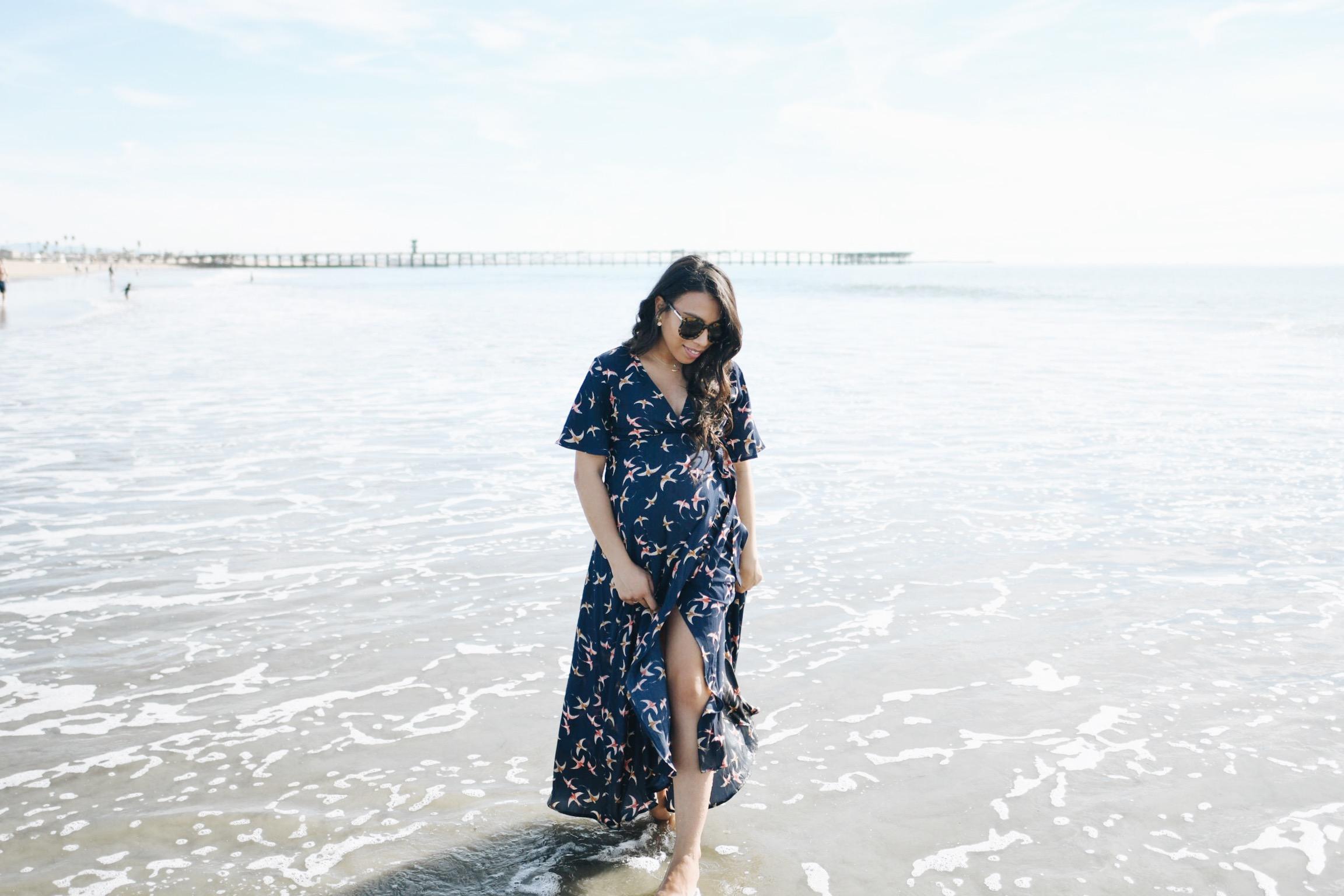 33 Weeks Pregnant | Seal Beach, California