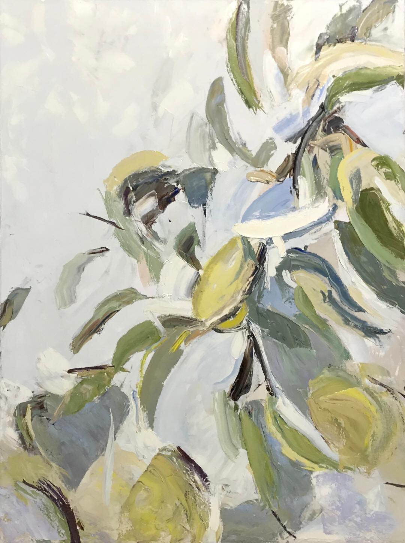 Devine, Lemon Pears, 48x36 inch.jpg, $2800.jpg