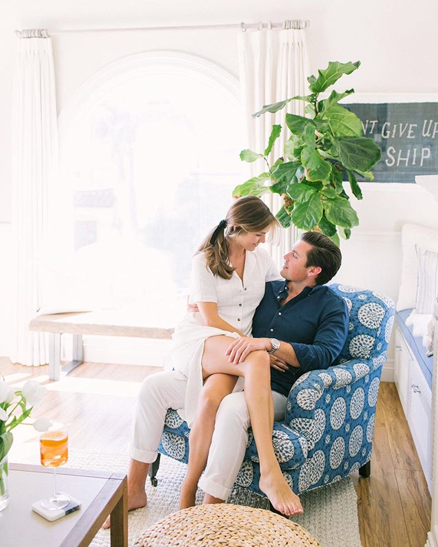 Sharing some more photos from this beautiful engagement session in Manhattan beach. I loved all the cute and beach chic decor in Madison and Jack's home. We wanted to make their engagement session feel and look authentic, candid, romantic, classy, and timeless. I loved everything about this shoot and loved hanging out with these two!