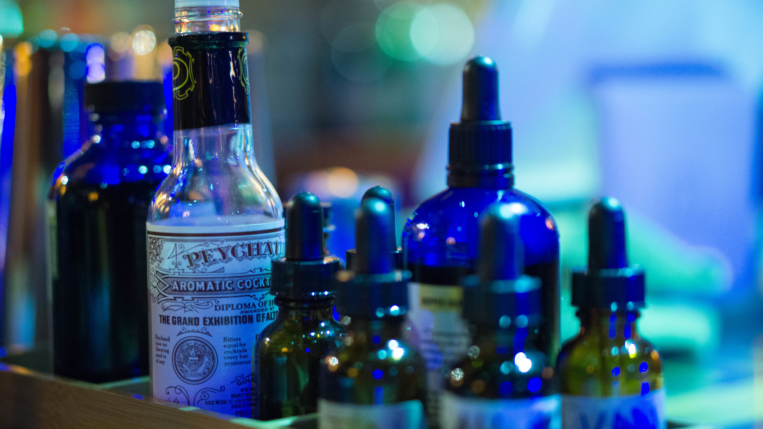 Tinctures and Bitters