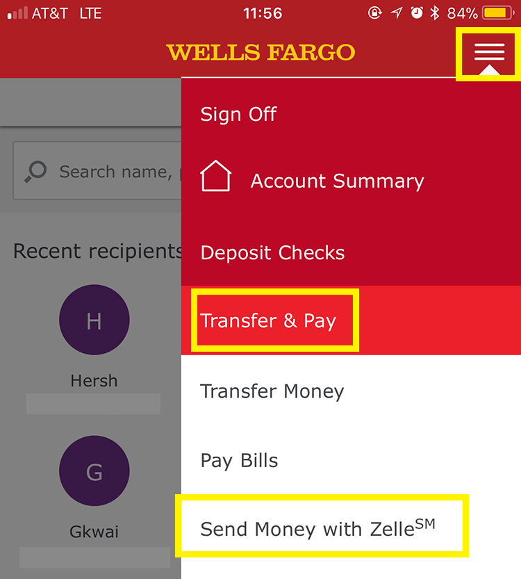 Wells Fargo Bank Transfer Christus