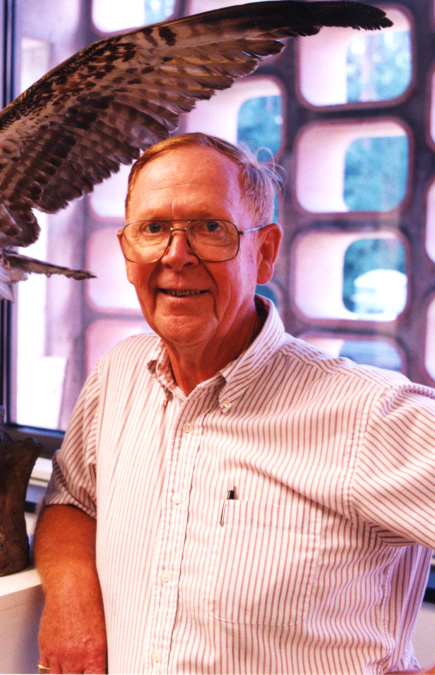 Dr. Norman Ford, retired professor of biology