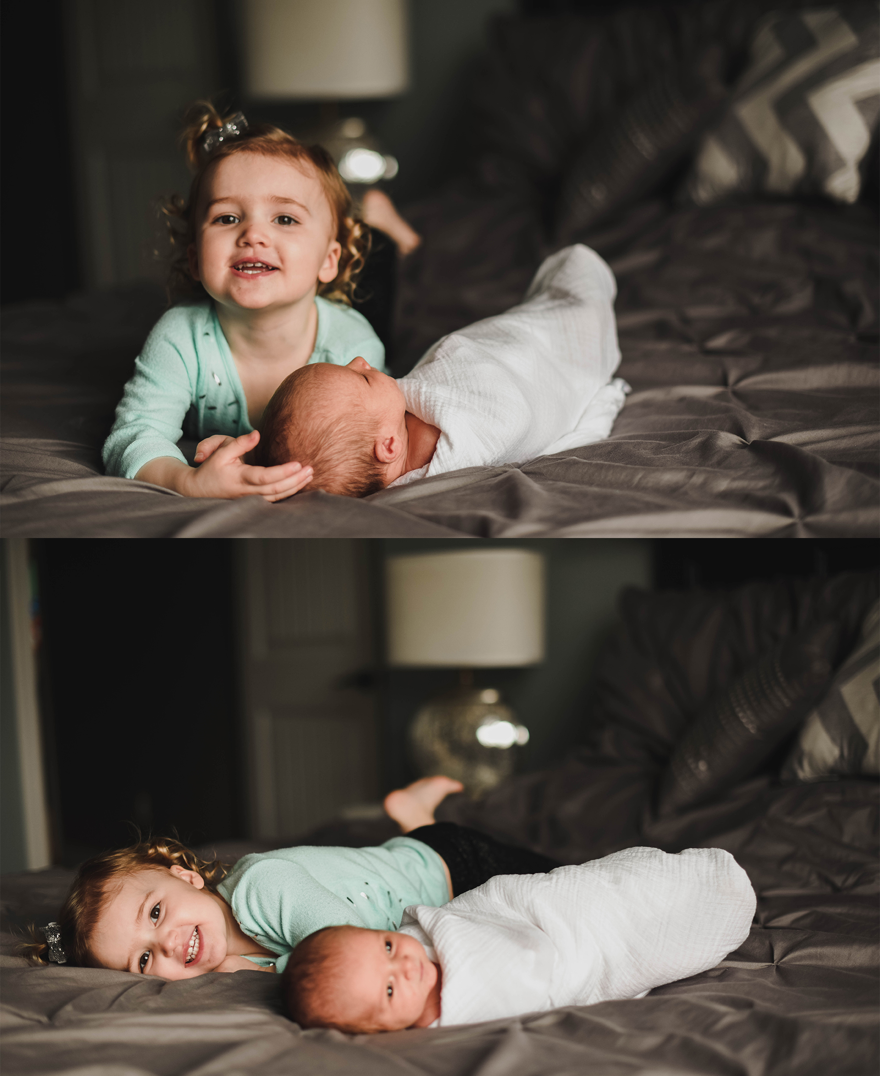 If you have ever taken photos of a 2 year old you probably know as well as I do that it is next to impossible sometimes!! Harper kept me on my feet on Saturday but I still love these shots of her with her brother