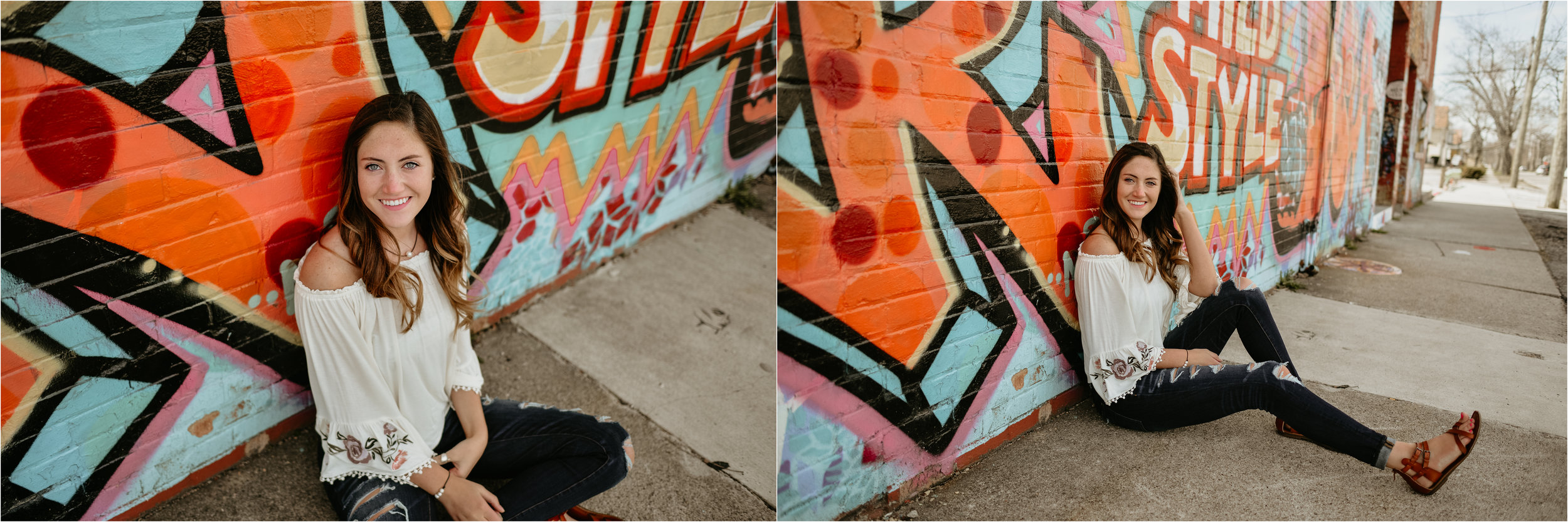 Like OH-M-GEE these walls are seriously amazing. Whoever painted these is sure full of talent!