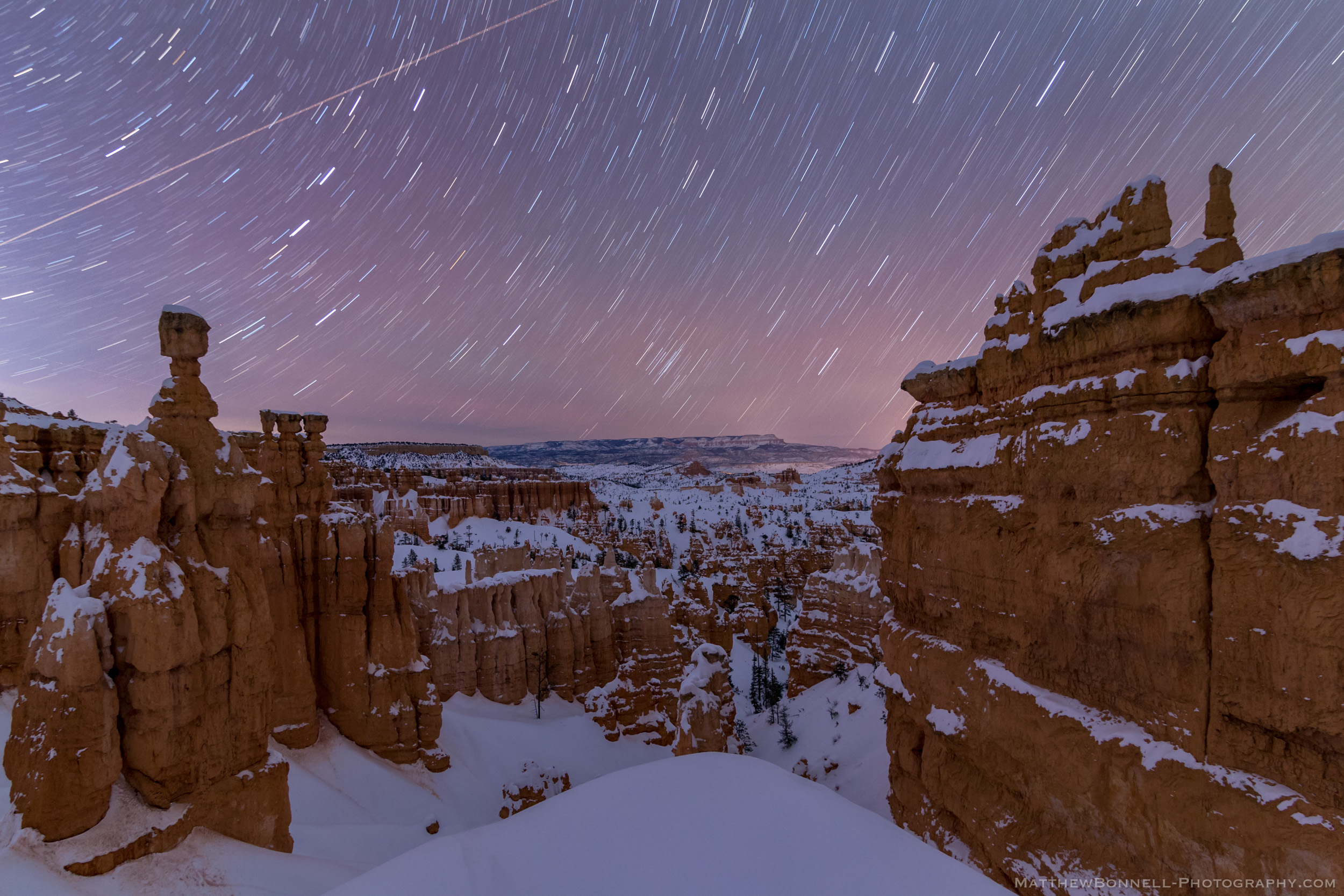 Bryce Canyon Star Trails