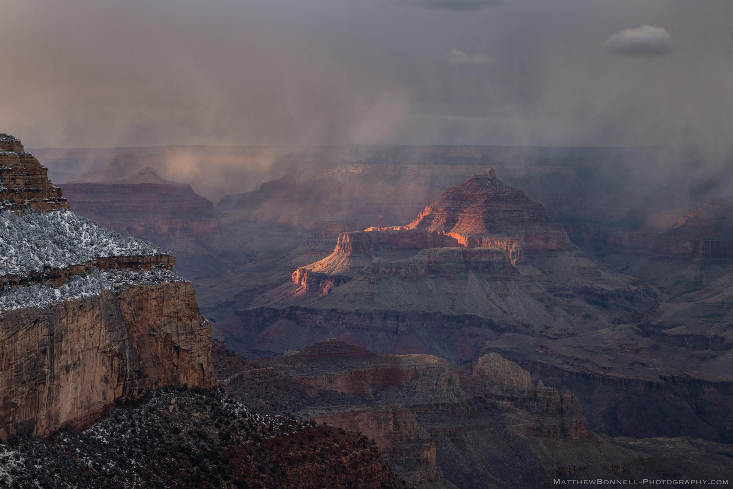 Grand Canyon Squall