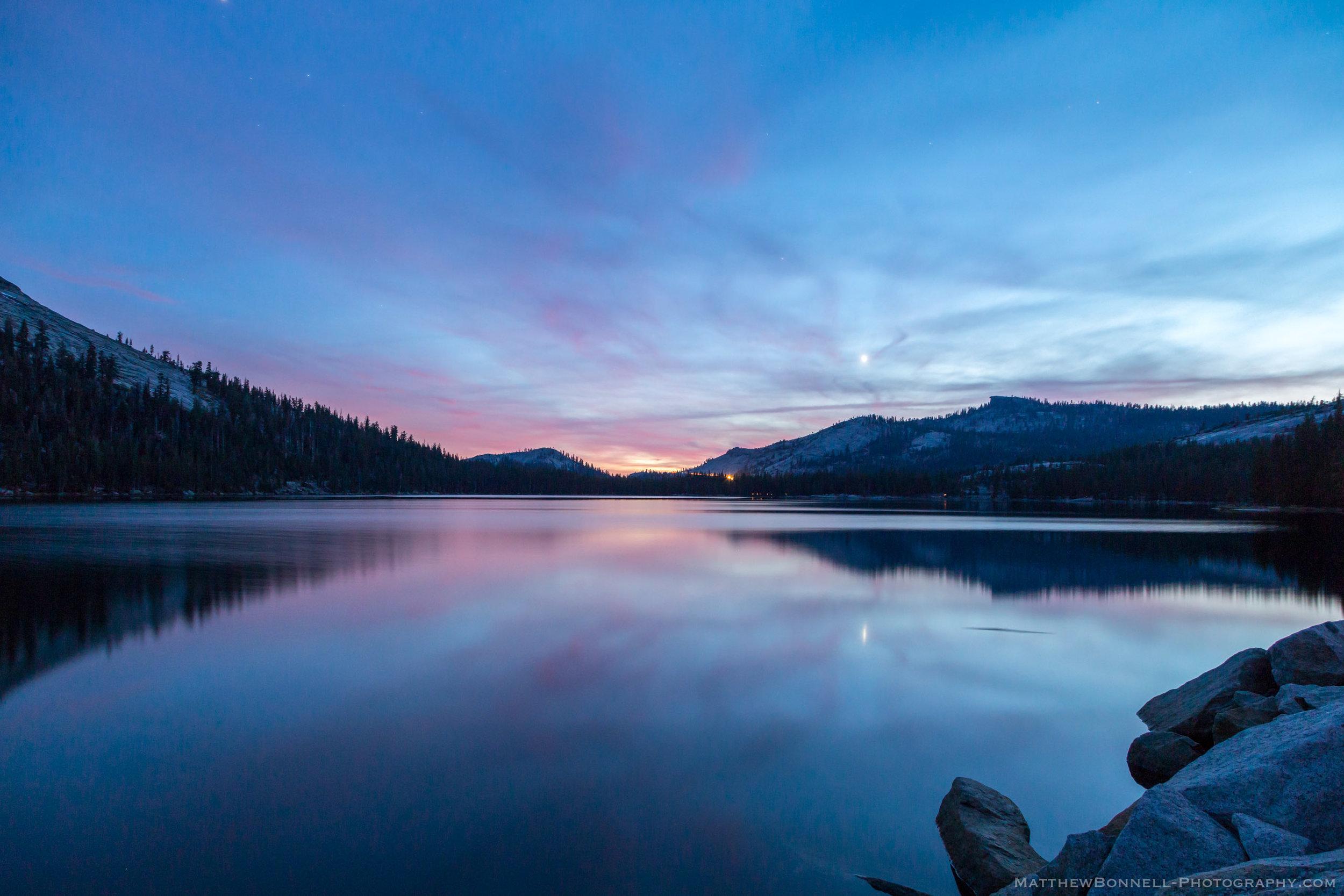Tenaya Lake Last Light