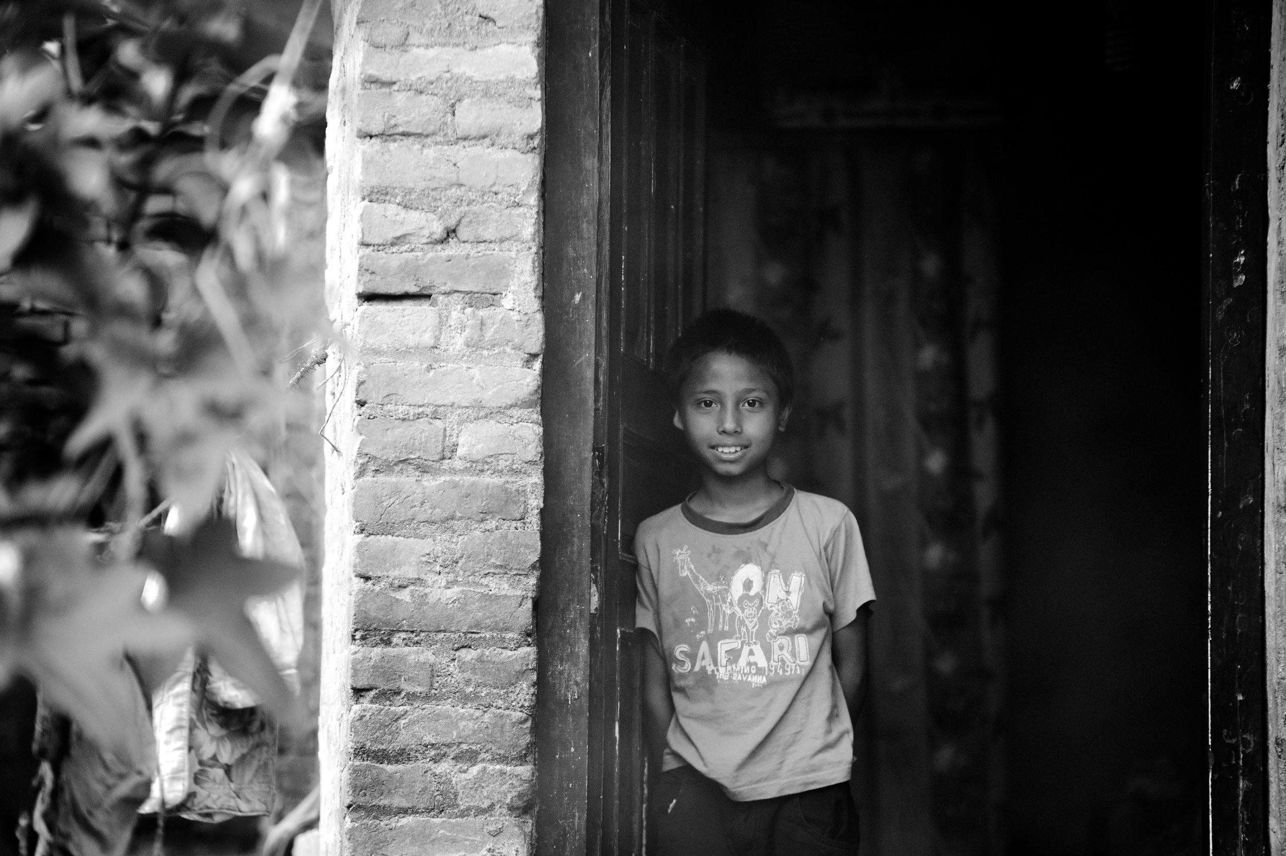 boy in doorway baw.jpg