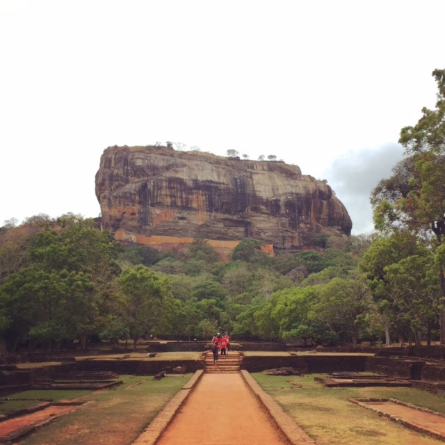 A kingdom on a hill: Sigiriya in Sri Lanka, where an ancient kingdom once ruled.