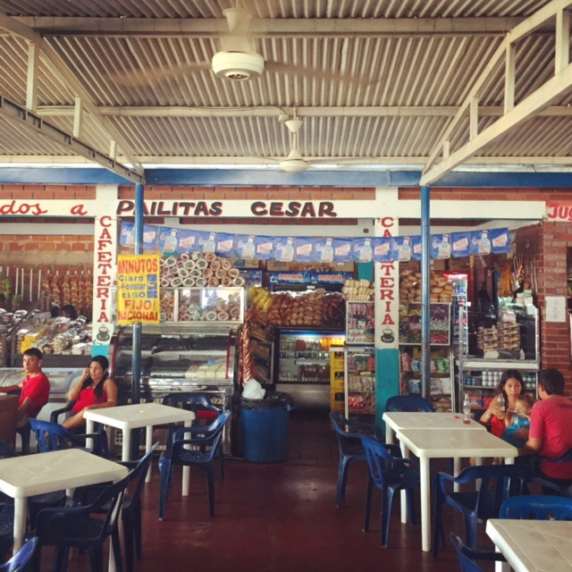 In case you ever wondered what a rest stop in Colombia looks like.