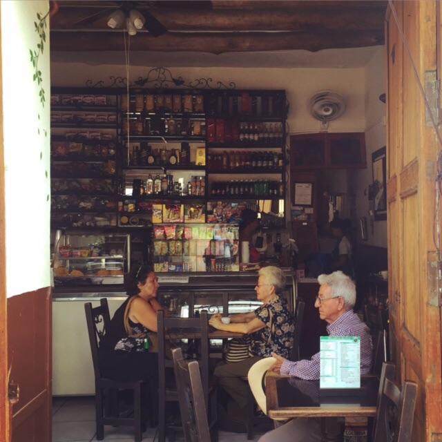 Grab a café con leche with the locals in San Gil.