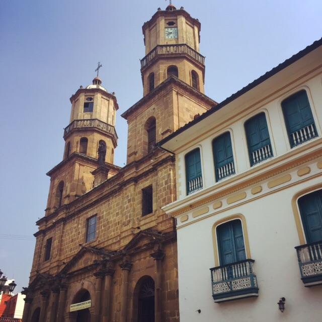 The Catedral de la Santa Cruz: worth a 13 hour bus ride