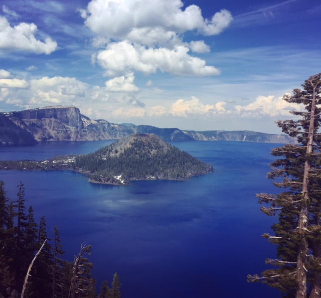 The majesty of Crater Lake