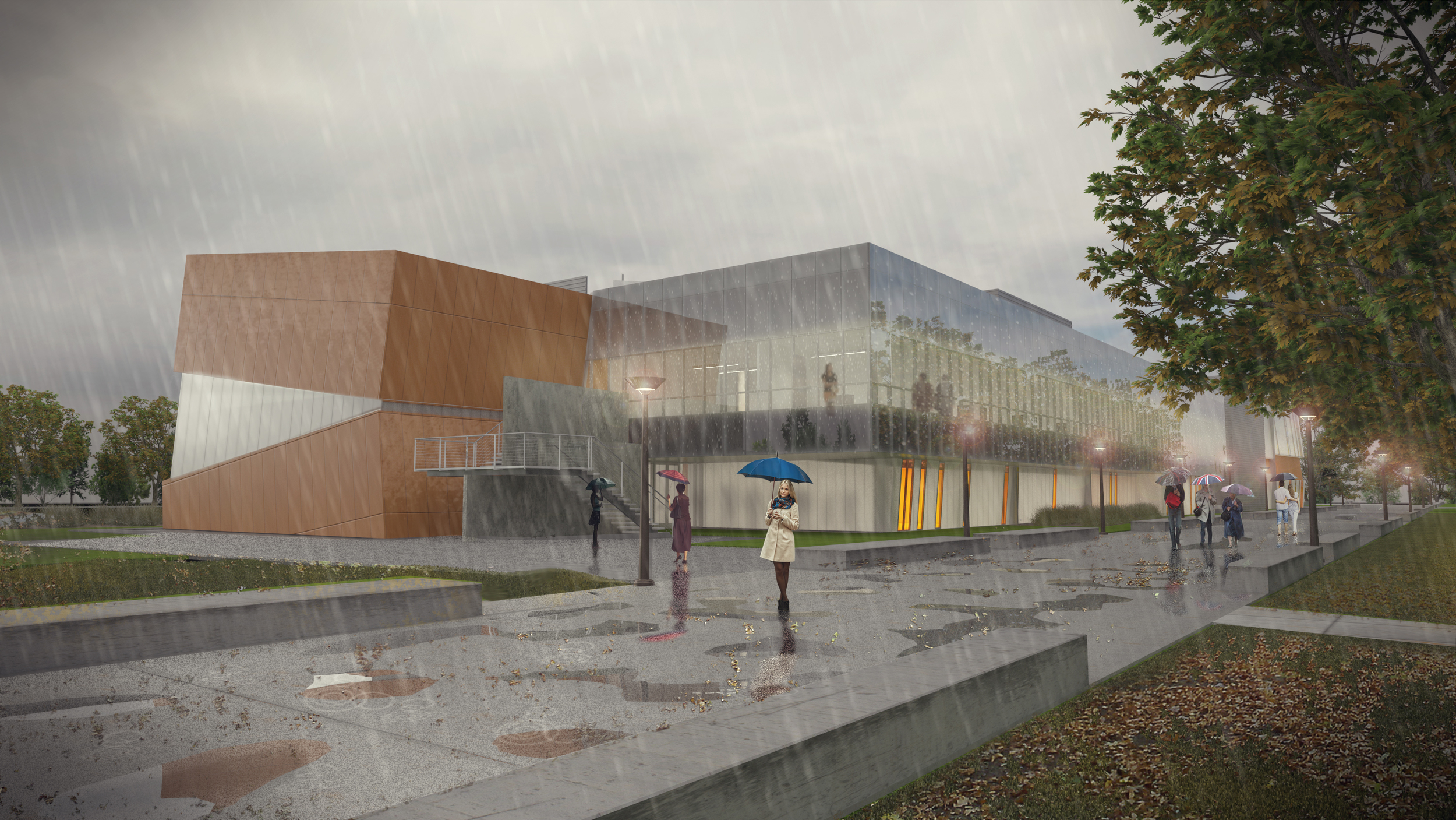 Evergreen Valley College Rendering 1