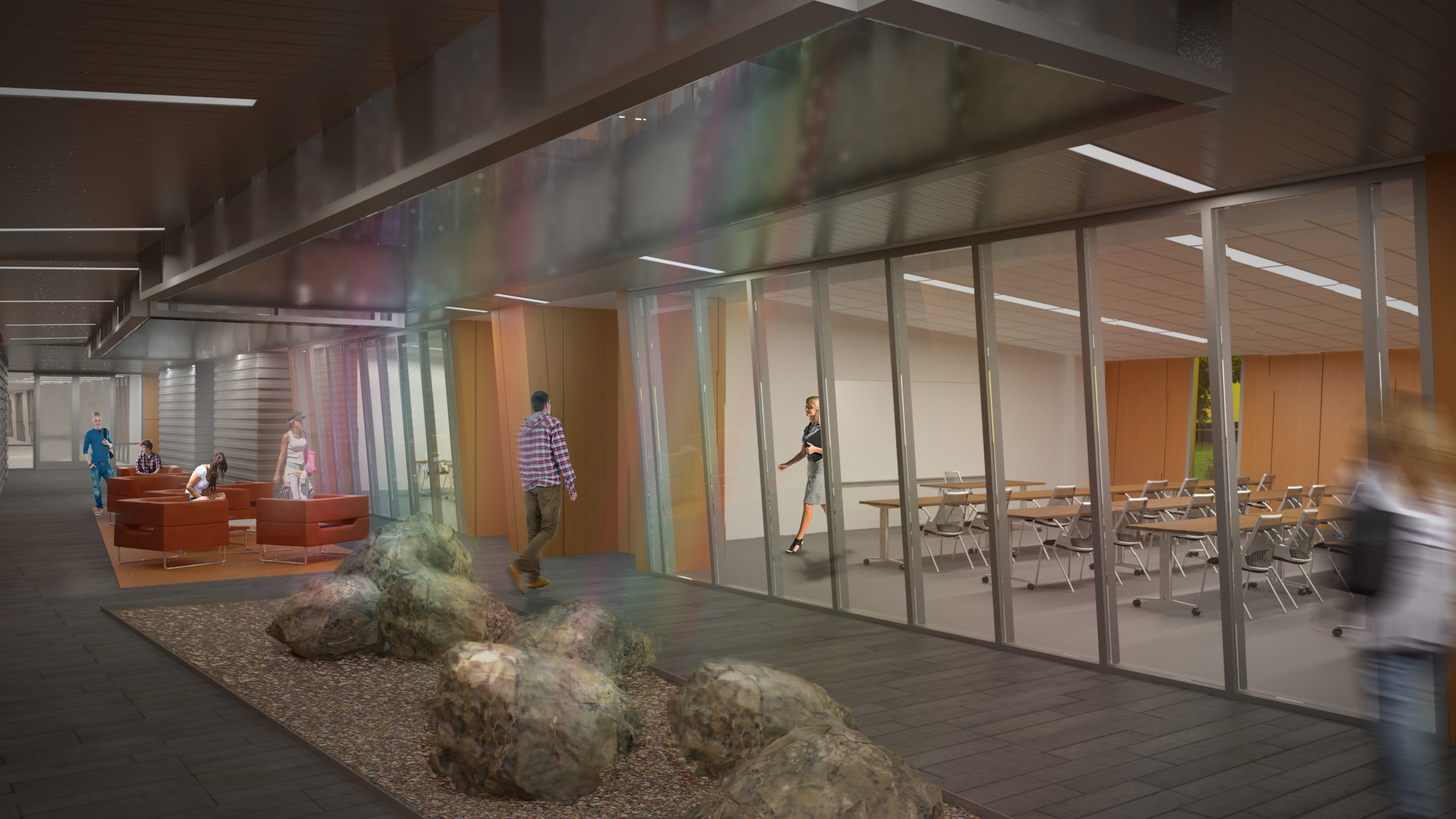 Evergreen Valley College Rendering 7