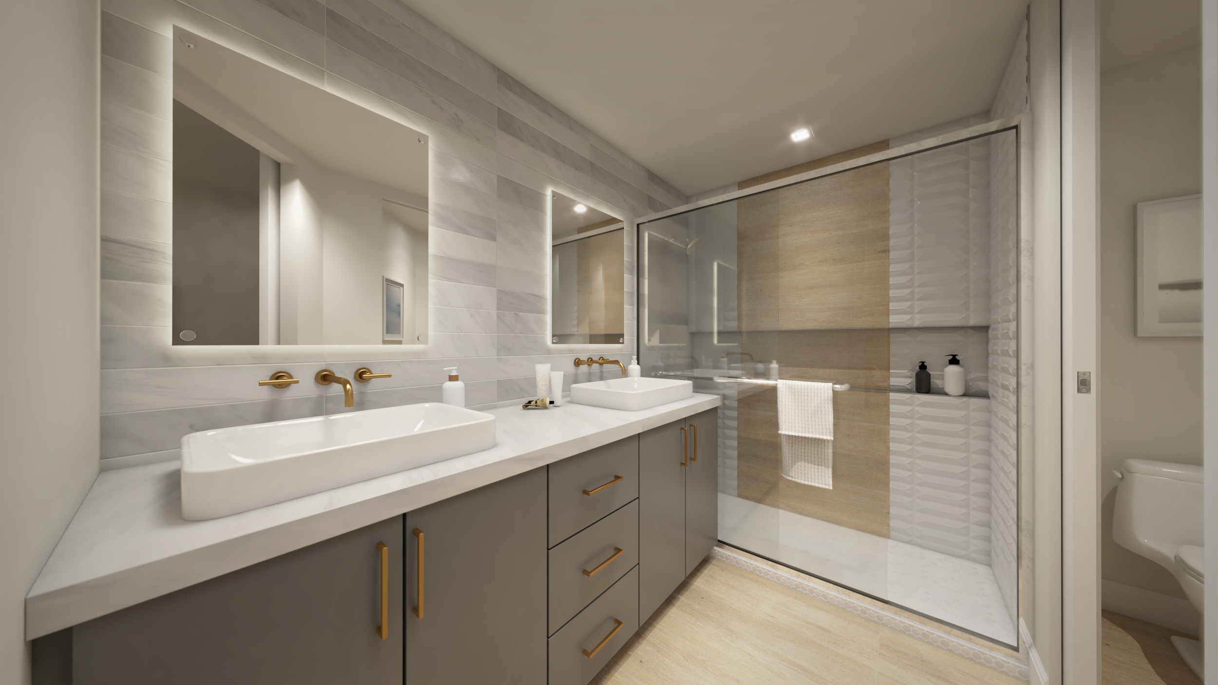 Artisan on Roosevelt interior finishes package 1 rendering B