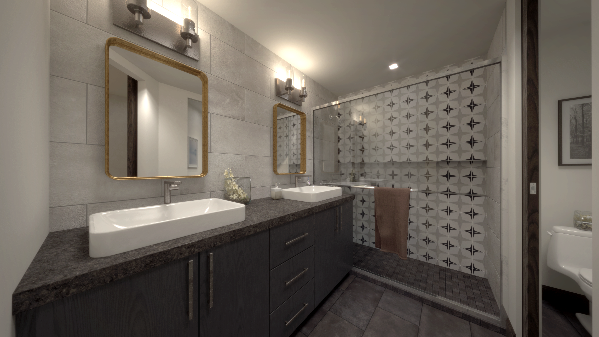 Artisan on Roosevelt interior finishes package 2 rendering C