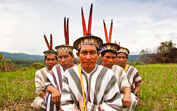 Location: Central Peru Endangered Species: 19 Population: 2,151 humans Threats: Logging, cocaine