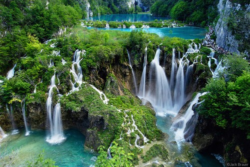 Plitvice Lakes National Park, Croatia by Jack Brauer