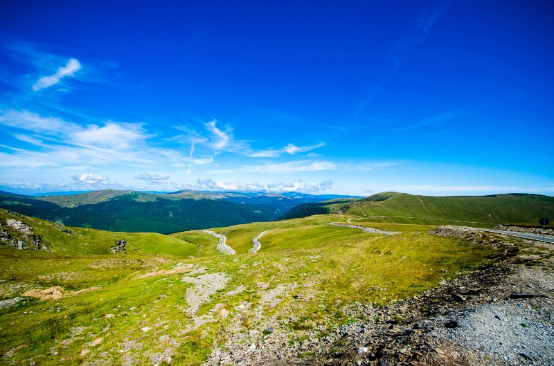 The view on the Transalpina