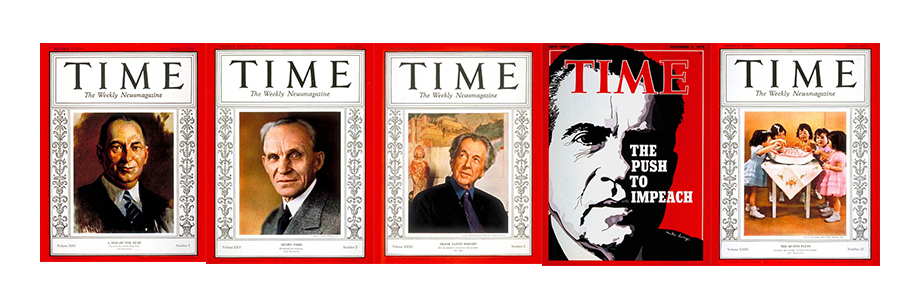 Top 5 Most Attractive. Mostly realistic paintings. Fully decorated framing. and an outlier of Nixon.