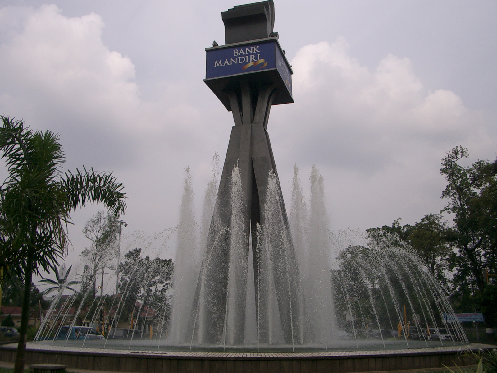 Air Mancur Arsitektural (Architectural Fountain)