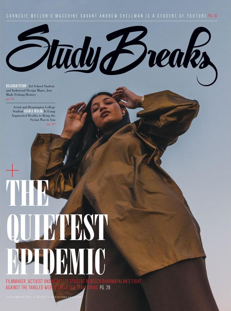 Study Breaks Magazine Cover -