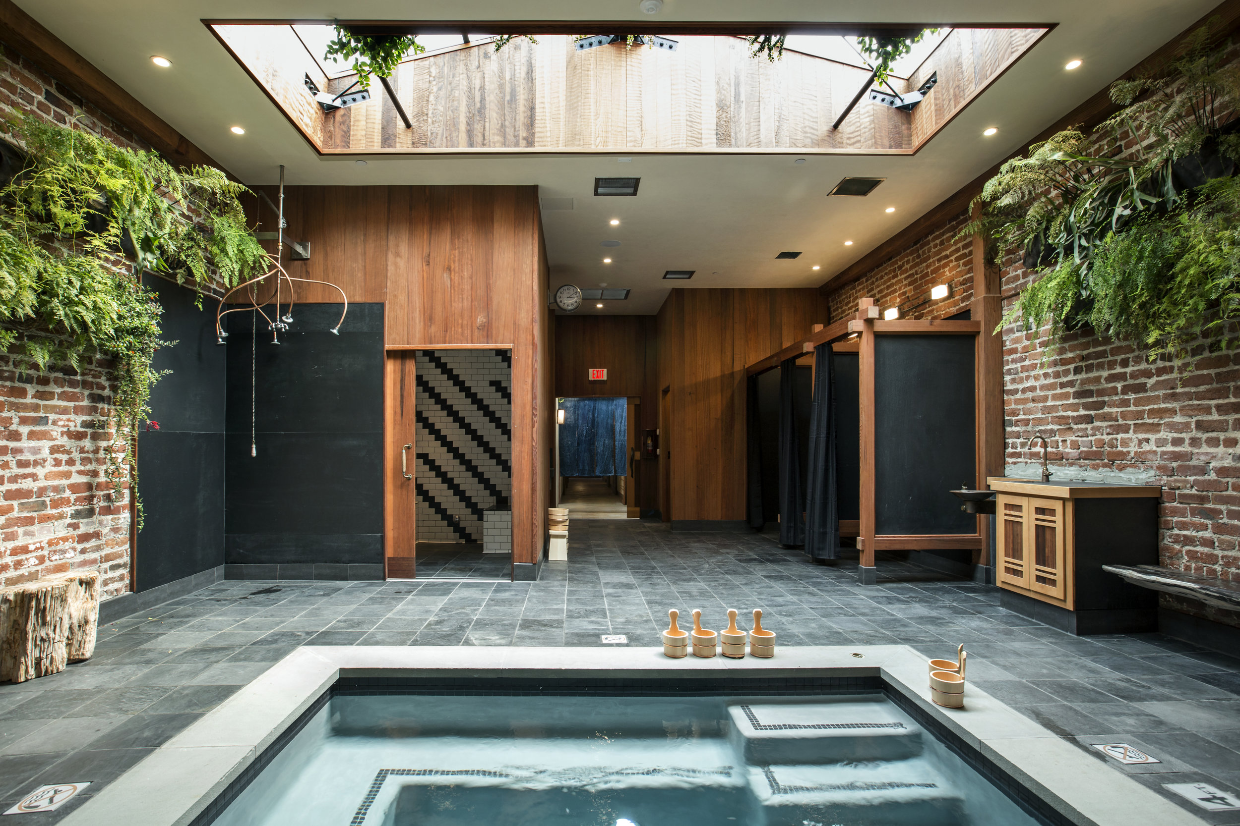 Onsen a Japanese inspired communal bathhouse
