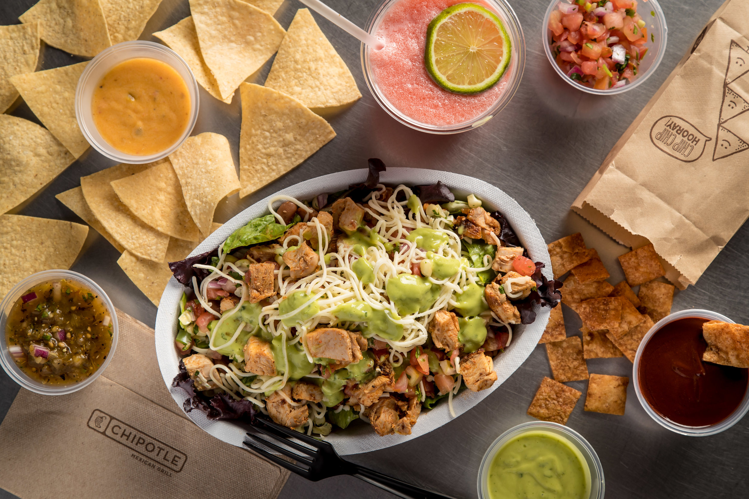 Chipotle - Create a craving that can only be solved by ordering online.