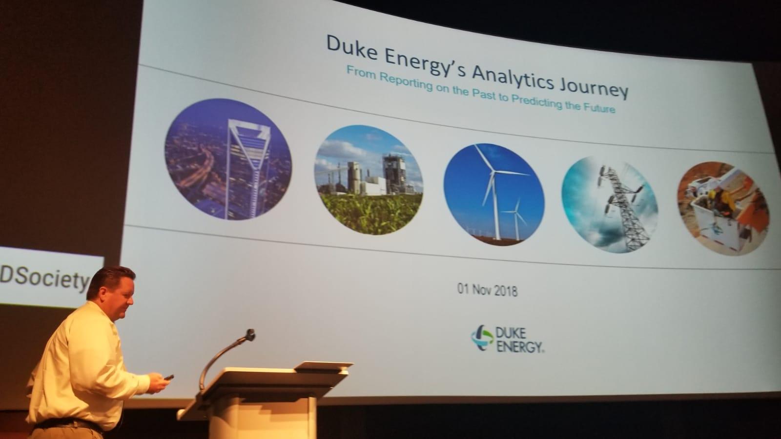Norv Clontz - Director, Data Science Innovation at Duke Energy