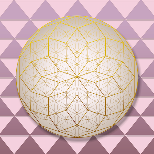 Freedom Decagram #theSOLspace SOL-Art © All Rights Reserved Sacred Geometry Art