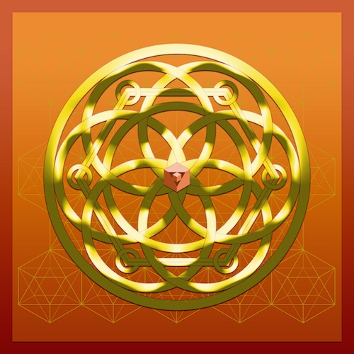 SIX Spheres Hexagon & Cube #theSOLspace SOL-Art © All Rights Reserved Sacred Geometry Art
