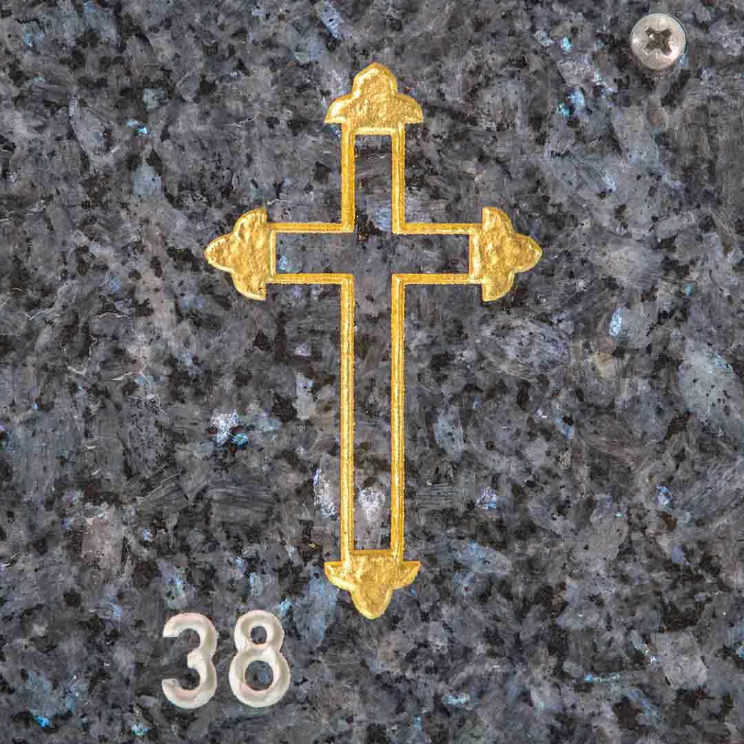 Kors til gravstein