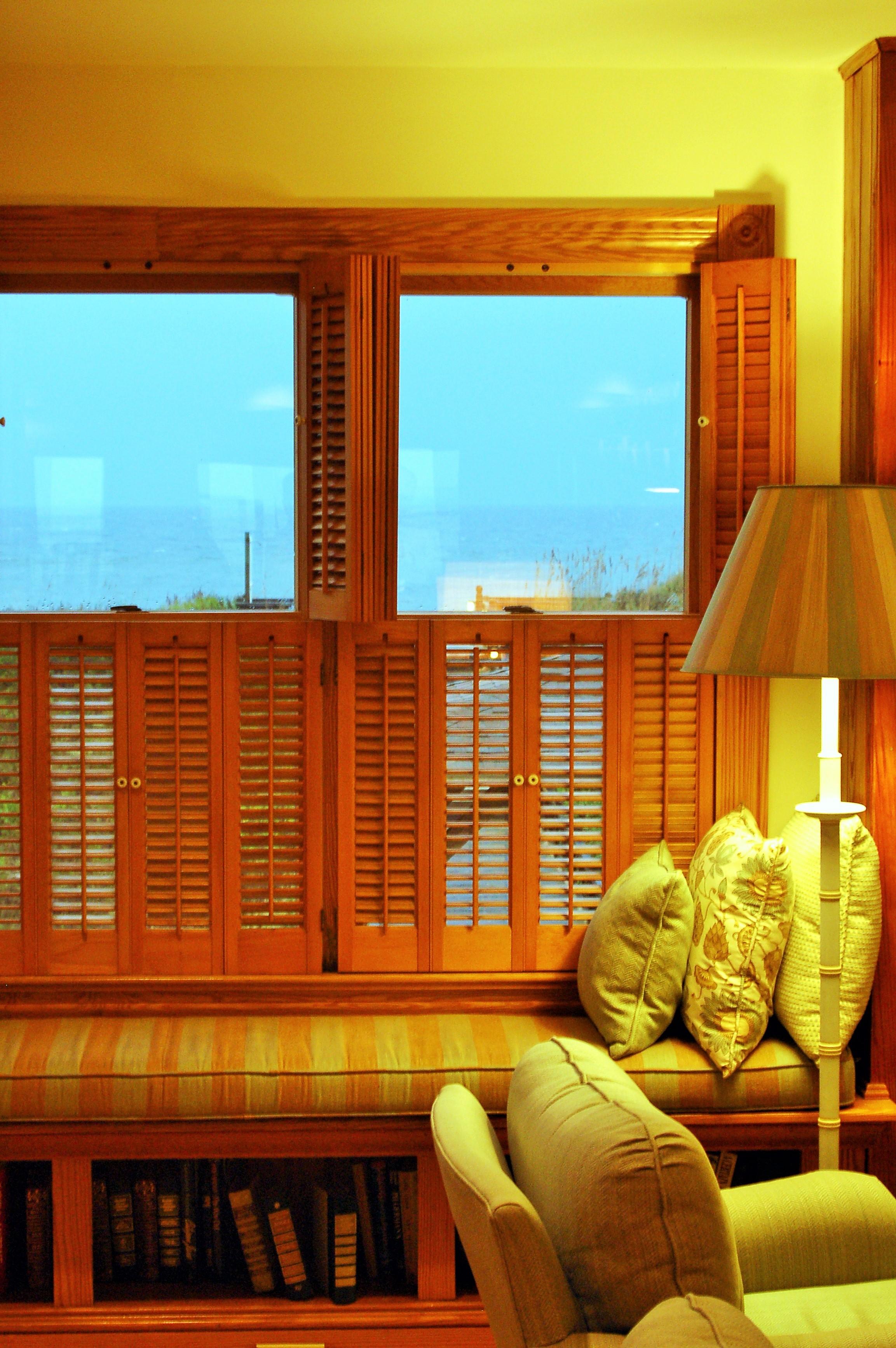 Tier on tier wooden shutters Southampton