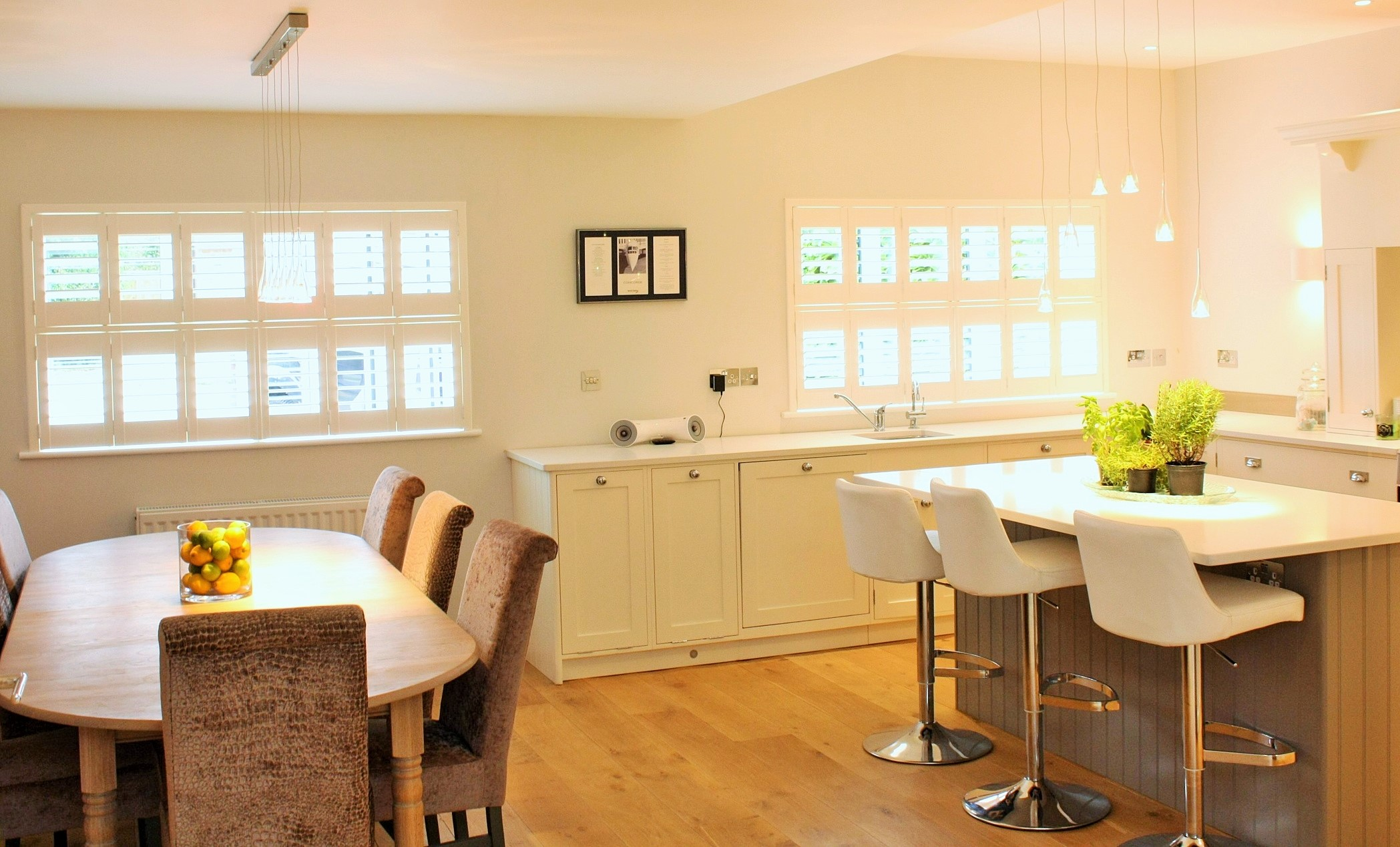 Interior wooden shutters Southampton Hampshire