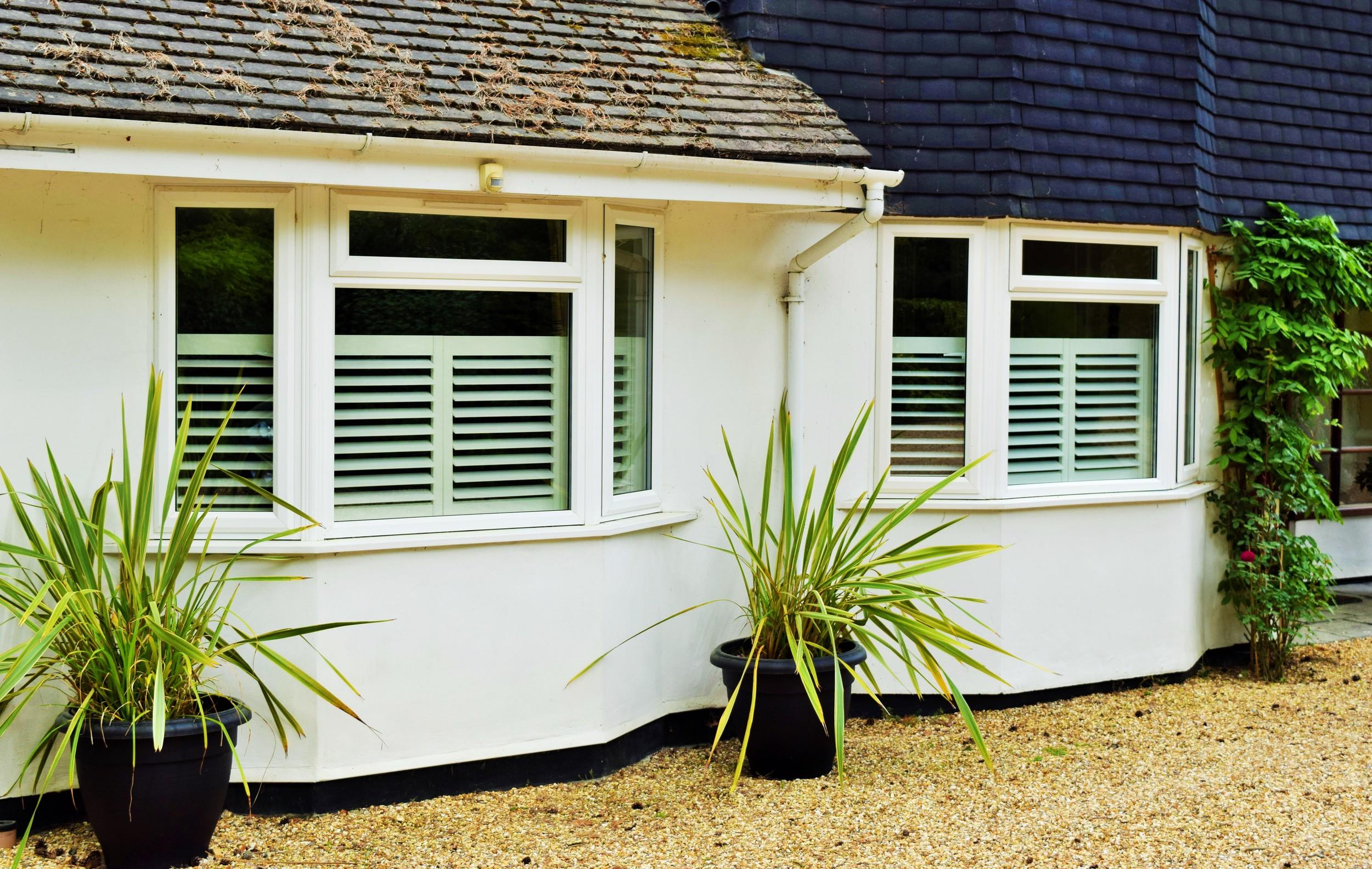 Cafe style shutters Ringwood Hampshire